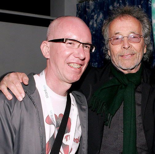 bruce and Herb Alpert at Giant Step Miami 2006